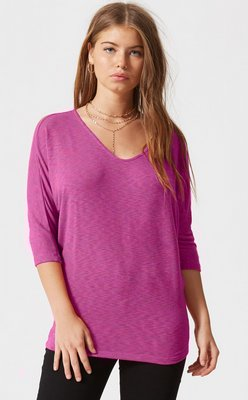 Bowie Solid Dolman Sleeve Top