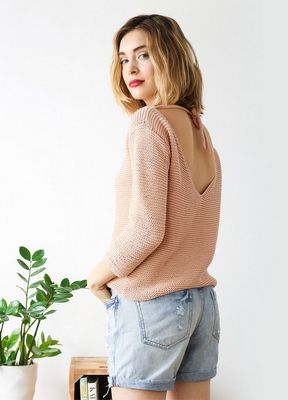 Oak Elton Airy Knit Cardigan