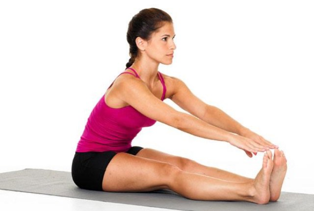 THE HAMSTRING STRETCH